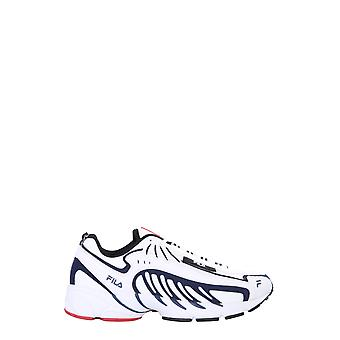 Msgm 2840ms0126f29901 Men's White Leather Sneakers