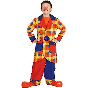 Great Clown Child Costume