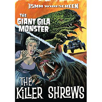 Killer Shrews / Giant Gila Monster [DVD] USA import