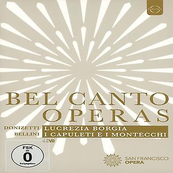 Óperas de Belcanto - importación de Estados Unidos de la ópera de San Francisco [DVD]