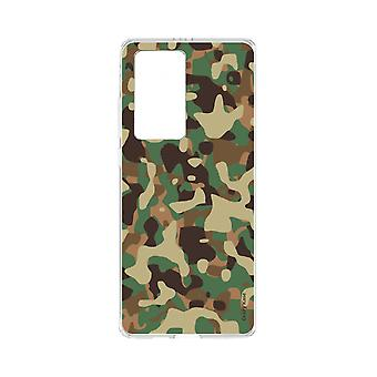 Hull For Huawei P40 Pro Soft Military Camouflage
