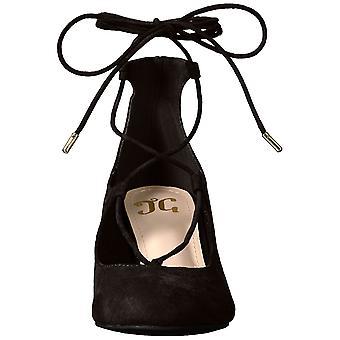 Journee Collection naisten Ferah suljettu Toe nilkka hihna Classic pumput