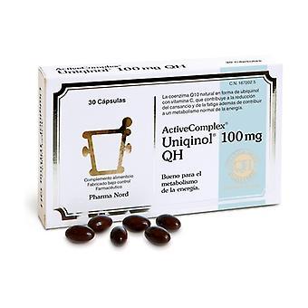 Activecomplex Uniqinol 100mg 30 capsules