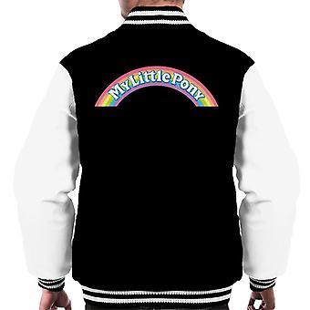My Little Pony Rainbow Logo Uomo's Giacca Varsity