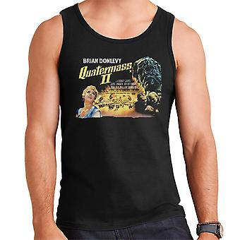 Hammer Horror films Quatermass 2 movie poster mannen ' s vest