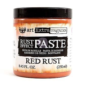 Finnabair Art Extravagance Rust Paste Red