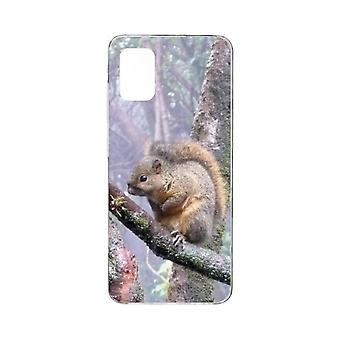Hull For Samsung Galaxy A51 Flexible Squirrel