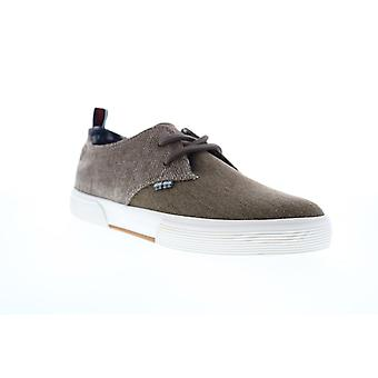 Ben Sherman Bristol Lace Up  Mens Brown Canvas Low Top Sneakers Shoes