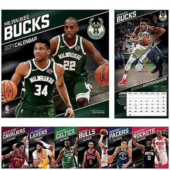 Turner NBA Teams 30x30cm Wall Calendar 2021