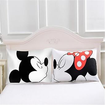 Disney Mickey Mouse & Minnie Mouse Cartoon Bedding Set For Children