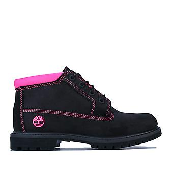 Women's Timberland Nellie Chukka Double WP Boots in Black