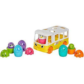 TOMY Toomies Hide and Squeak Egg Bus Baby Toy