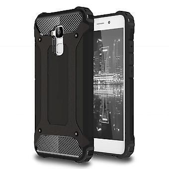 Shell for Huawei Mate 9 Hybrid Armor Black Protection Case Outdoors