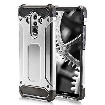 Shell for Huawei Mate 10 Pro - Silver Armor Hard Protection Case