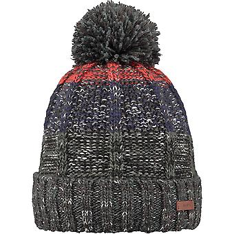 Barts Vista Bobble Hat in Orange