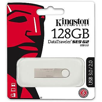 Kingston DataTraveler SE9 G2-3.0 USB-geheugen 128Gb