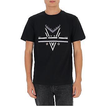 Les Hommes Ljt210700e9000 Men's Zwart Katoen T-shirt