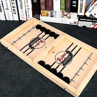 Child Interactive Bumping Chess Board Game - Desktop Hockey