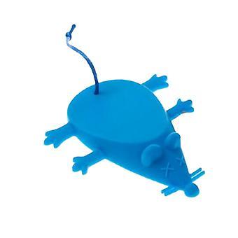 Little Mouse Shape Silicone Door File Blue