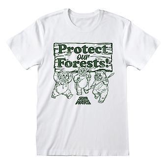 Star Wars Bescherm onze bossen officiële T-shirt