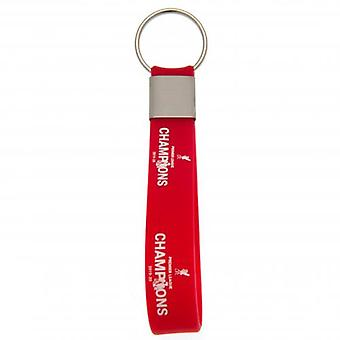 Liverpool Premier League Champions Silicone Keyring