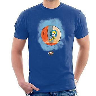 The Little Prince Hot Air Balloon Men's T-Shirt