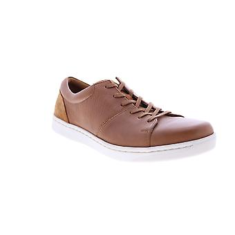 Clarks Kitna Vibe  Mens Brown Leather Lifestyle Sneakers Shoes
