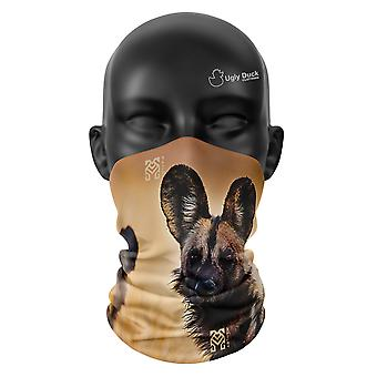 Geo Blur Hunde Snood Kopf Abdeckung Gesicht Maske Schal Neckerchief Buff Bandana