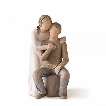 Willow Tree Figurine de toi et moi