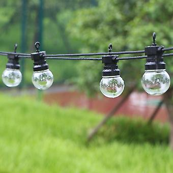 20 Glühbirne Led Festoon Outdoor String Licht Fee wasserdicht Led Globe String Lampe