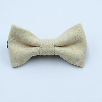 Fashion Wool Bow Tie For Baby Boys Skinny Bowtie Solid Color Child Collar Kids