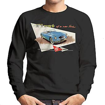 MG First Of A New Line British Motor Heritage Men's Sweatshirt