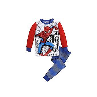 Cartoon Print Nightwear Pyjamas Vêtements, Pyjamas Sleepwear Baby Set-1