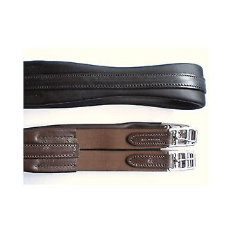 STS Sts English Leather Atherstone Girth