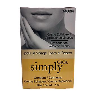 GiGi Simply GiGi Facial Hair Removal Cream 1.7 oz