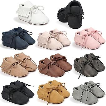 Pu läder baby mocassins skor,,, första Walkers Hot Moccs, Soft Bottom Fashion