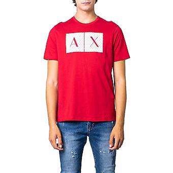 Armani exchange red men t-shirt