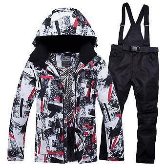 Nuova tuta da uomo super calda, impermeabile traspirante antivento Outdoor Sport Wear