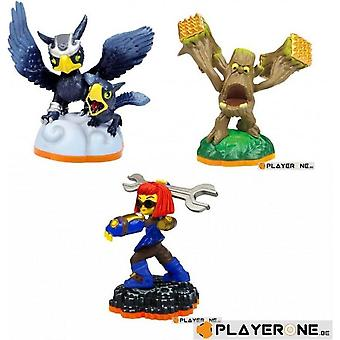 Skylanders Giants Macera Paketi Sprocket, Sonic Boom, Stump Smash