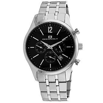 Oceanaut Men's Masterly Black Dial Watch - OC1501