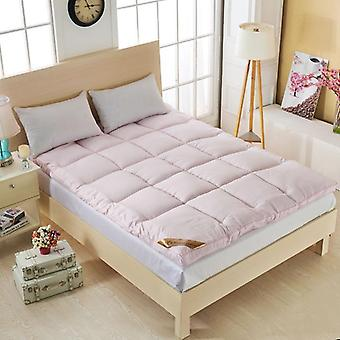 Thicker Goose Down Fiber Mattress Topper Bed Single Twin Queen Size