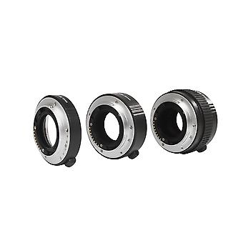 Movo photo af macro extension tube set for sony alpha dslr camera with 12mm, 20mm & 36mm tubes (meta