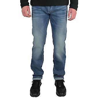 True religion men's rocco blue jeans