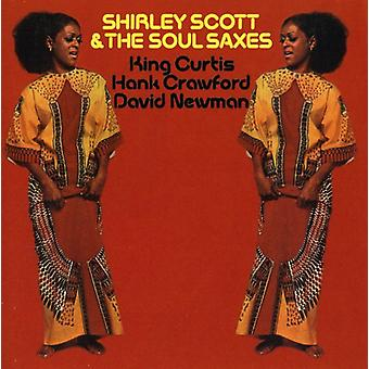 Shirley Scott & The Soul Saxes [CD] USA import