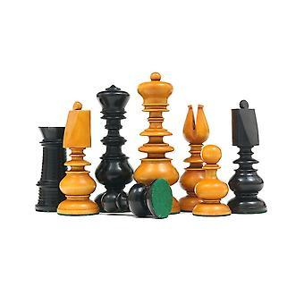 Calvert Series Antique Reproduction Chessmen