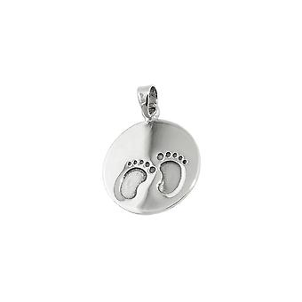 Pendant Little Foots Oxidated Silver 925