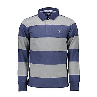 GANT قميص بولو طويل الأكمام الرجال 1803.2005021