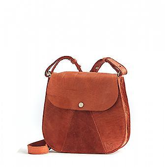 L'Orgueilleux - Terracotta - Bubble Leather