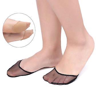 Women Summer Hollow Out, Anti-slip Transparent Short Socks