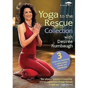 Desiree Rumbaugh: Yoga negli Stati Uniti salvataggio Collection [DVD] importare